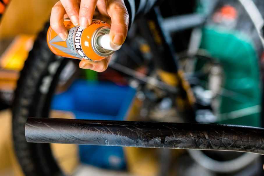 Brunox Carbonpflege Frühjahrescheck Mountainbike Fahrrad