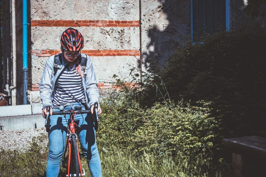 Mit dem Fahrrad zur Arbeit - Ausrüstung und Sicherheit, Tipps mit dem Chackpack