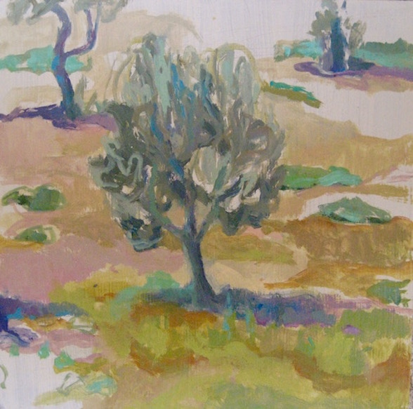 Chios Greece Painting Oil