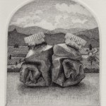 Prints Renaissance Landscape Paint Tubes Etching