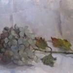 Hydrangea Branch Painting Oil