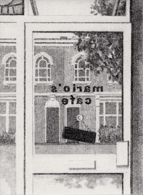Prints Door Frame Window Marios Etching