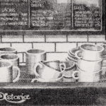 Prints Coffee Machine Marios Etching
