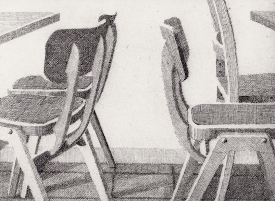 Prints Chairs Tables Marios Etching