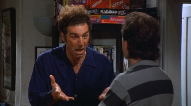 Friday's Funny!  Kramer on Marriage