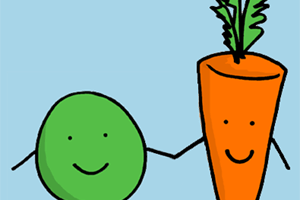 Like Peas and Carrots…If We Want… – Our Bread ~