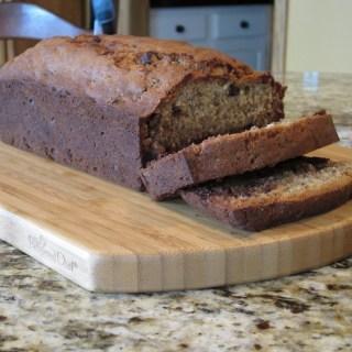 And on Thursday she…..baked? Yes, I made banana bread!