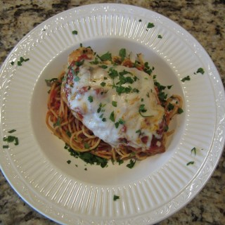Quick Stovetop Chicken Parmigiana