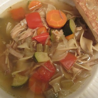 Lazy Day Turkey Noodle Soup