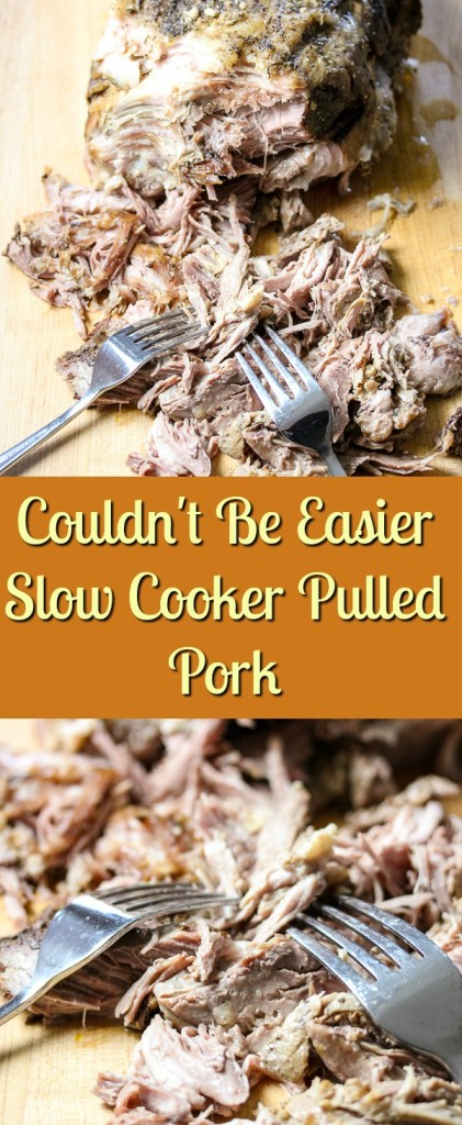 Slow Cooker Pulled Pork couldn't be easier, plus, it turns out juicy and flavorful every time. It's great to keep on hand in the freezer for quick meals.