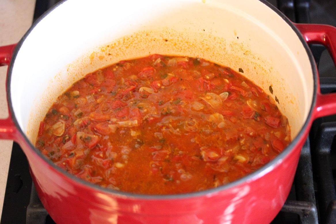 Fresh Tomato Pasta Sauce - Lisa's Dinnertime Dish for ...