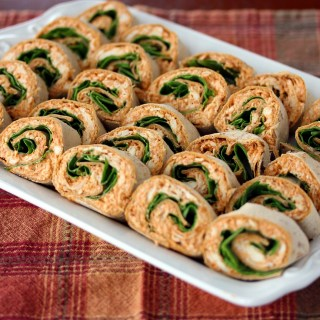 Chicken Taco Pinwheels