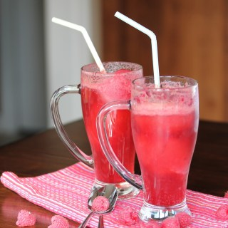 Raspberry Float