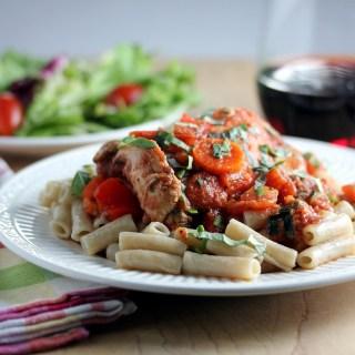 Slow Cooker Rustic Italian Chicken