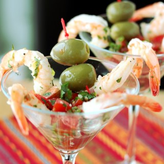 Shrimp Martini Appetizer