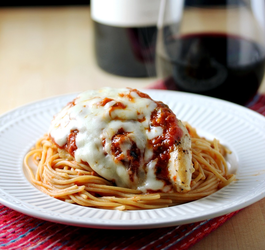 Quick Stove Top Chicken Parmesan
