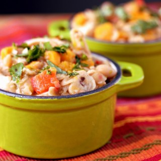 Easy Chicken Chili with Butternut Squash