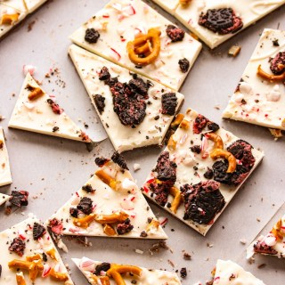 Peppermint Holiday Bark