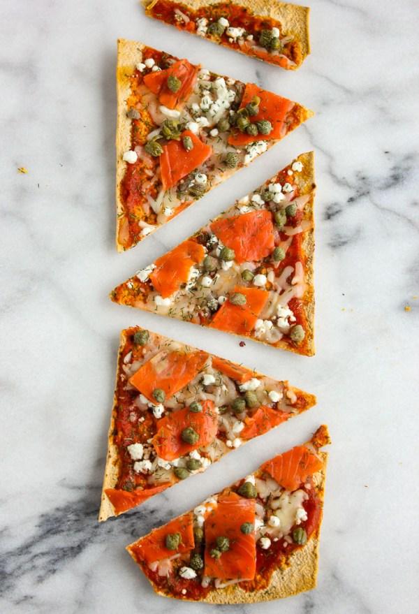 Lisa's Dinnertime Dish: Smoked Salmon Flatbread