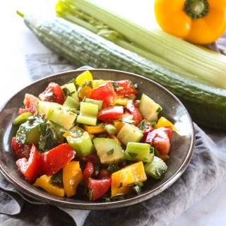 Chunky Gazpacho Salad