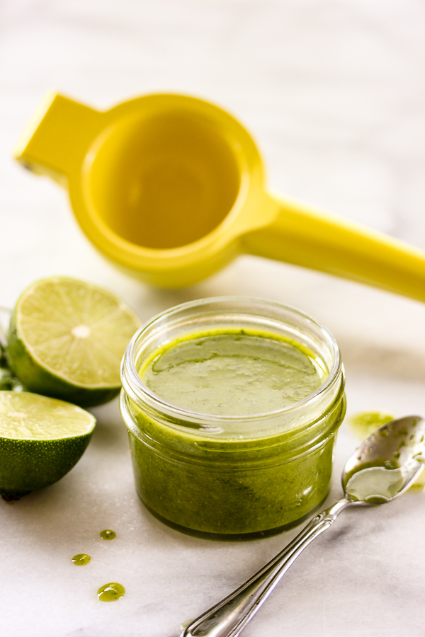 The possiblities for this spicy jalapeño lime vinaigrette are endless ...