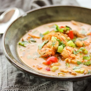 Shrimp Coconut Curry Soup