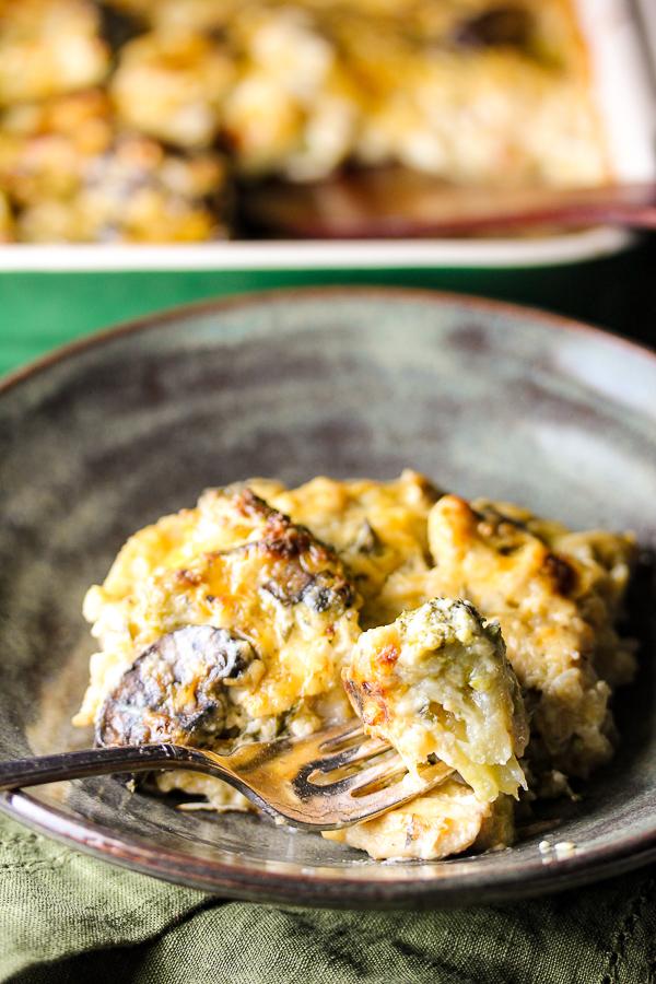 recipe: cauliflower broccoli rice casserole [25]