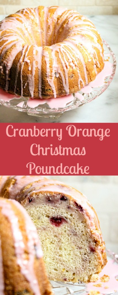 se your leftover cranberry sauce to make this brightly flavored, moist Cranberry Orange Christmas Poundcake. It's sure to be a hit at your holiday dinner.