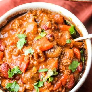 Beef & Veggie Chili