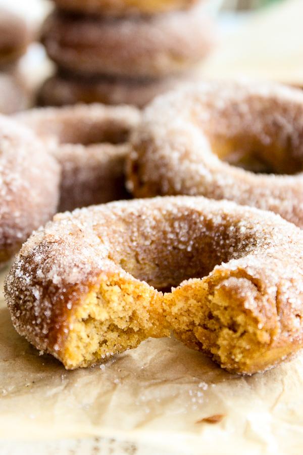 Baked Pumpkin Spice Donuts - Lisa's Dinnertime Dish