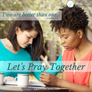 Feeling exasperated? Praying together can make a significant difference