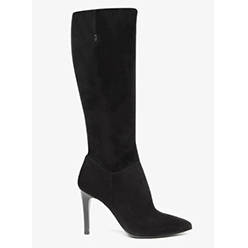 Murphys---NeroGiardini---Black-Leather-Suede-knee-high-Boot---PreOrder-October-22nd