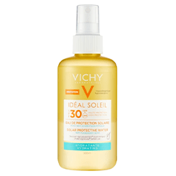 Meaghers---Vichy-Ideal-Soleil-Protective-Hydrating-Water-Spf30-200ml