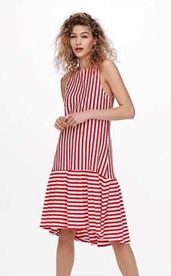 BORN---Fiona-Life-Red-Stripe-Dress