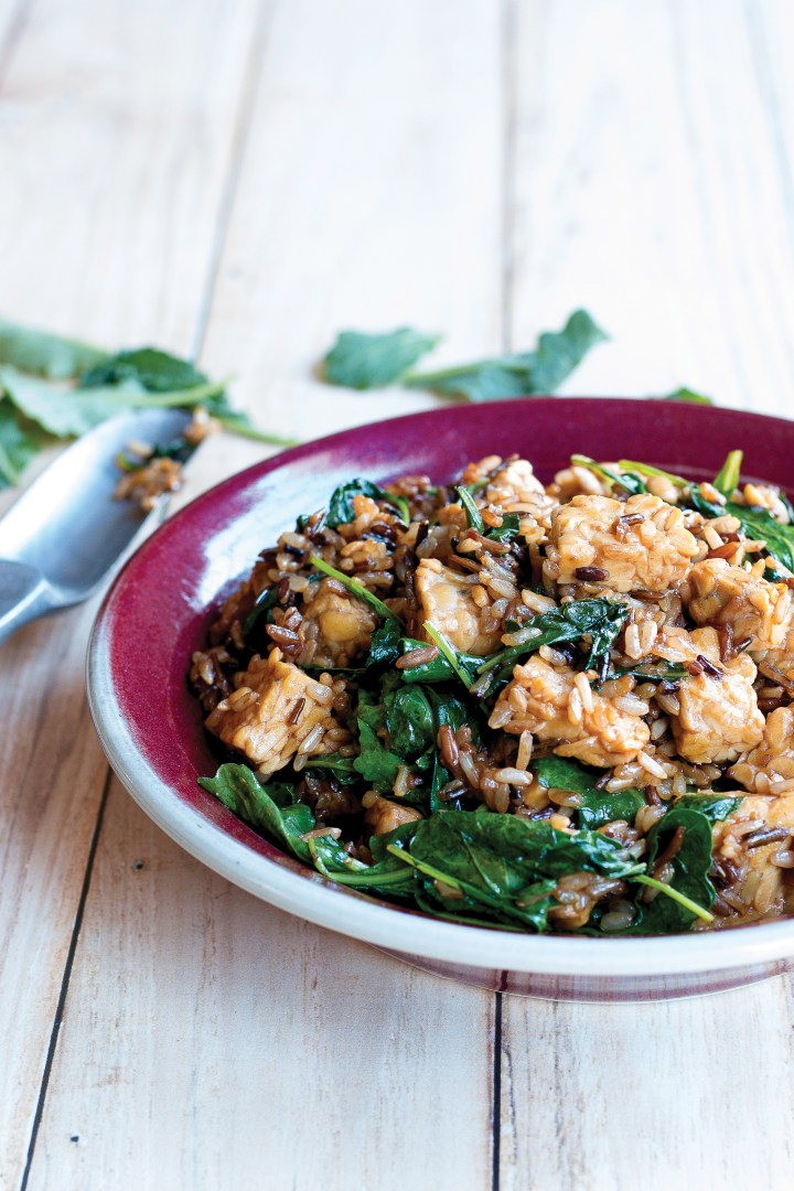 Kale and Wild Rice Salad with Tempeh.Easy.Whole.Vegan.jpg