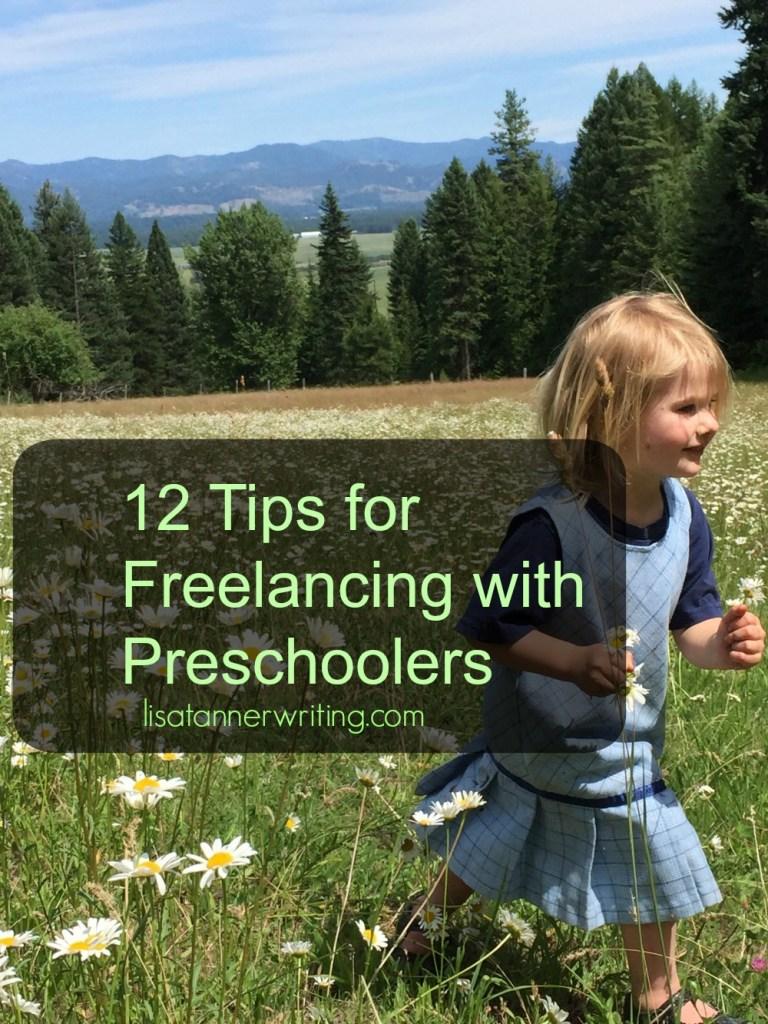 freelancing with preschoolers