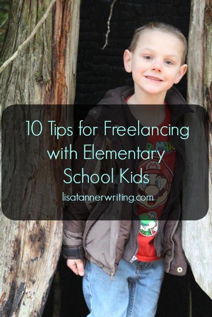 freelancing elementary kids