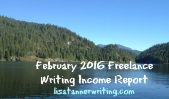 February 2016 Freelance Writing Income Report