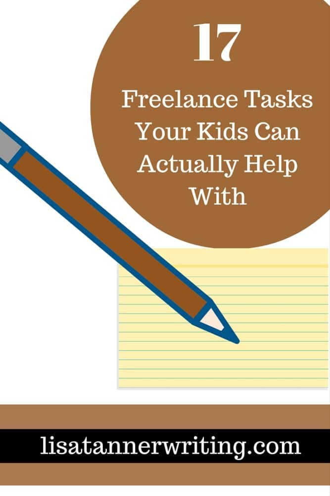 17 Freelance Tasks Your Kids Can Actually Help With