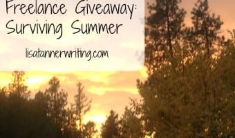 Freelance Giveaway: Surviving Summer