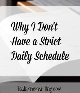 Strict daily schedules don't work for me. Here's what I do instead.
