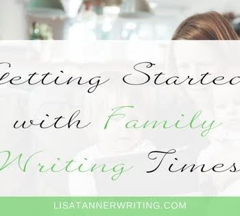 Trying to spend more times with the kids AND grow your business this year? Give family writing time a try. Here's how to get started.