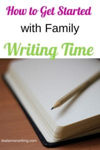 Trying to spend more times with the kids AND grow your business this year? Give family writing time a try. It's perfect to help with the whole life work balance thing.