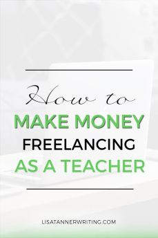 If you're a teacher ready to make money freelancing, check this post out. You'll find different strategies to make money, and learn some tips for finding gigs.