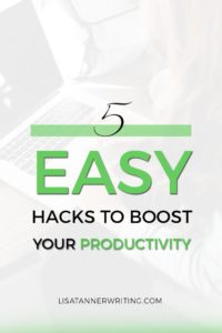 Boost your productivity with these five tips.