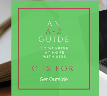 Do you take time to get outside? It really helps increase productivity and focus.
