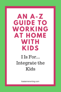 Do you integrate your kids into your business? This strategy will help you get more done, while spending time with your children.