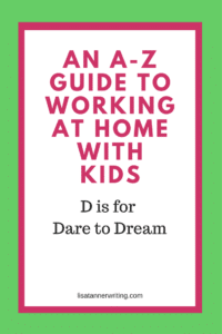 Are you daring to dream big for your business? When you're struggling through the day to day tasks of working with kids, it can be a challenge. But, it's essential!
