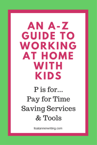 Time saving tools to the rescue! When you're a busy mom growing your business, trading money for time helps.