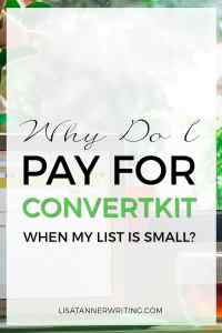 Why do I use ConvertKit? Because I love it! Here's why...